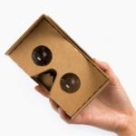 google cardboard headset