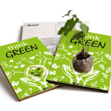 eco-postcard think-green