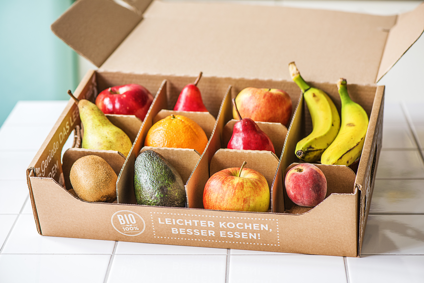 Corrugated Fruit Box Delivered To Your Doorstep